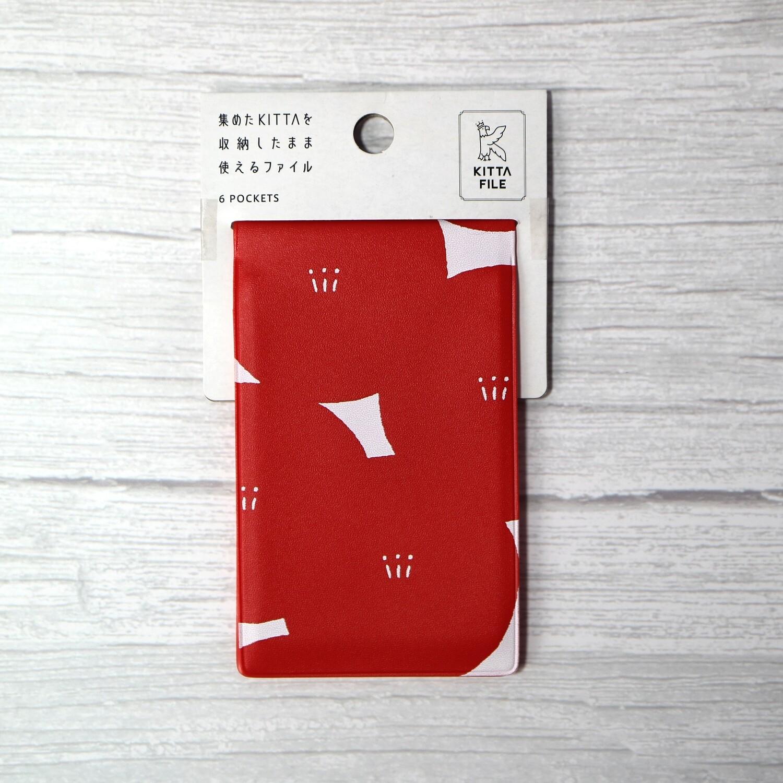 KITTA Washi Tape Storage File (6 pockets)