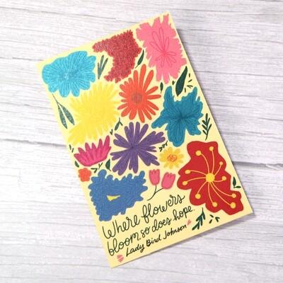 Floral Bloom Print