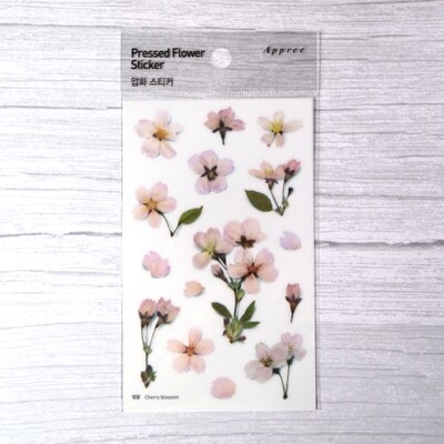 Appree Cherry Blossom Sticker Sheet
