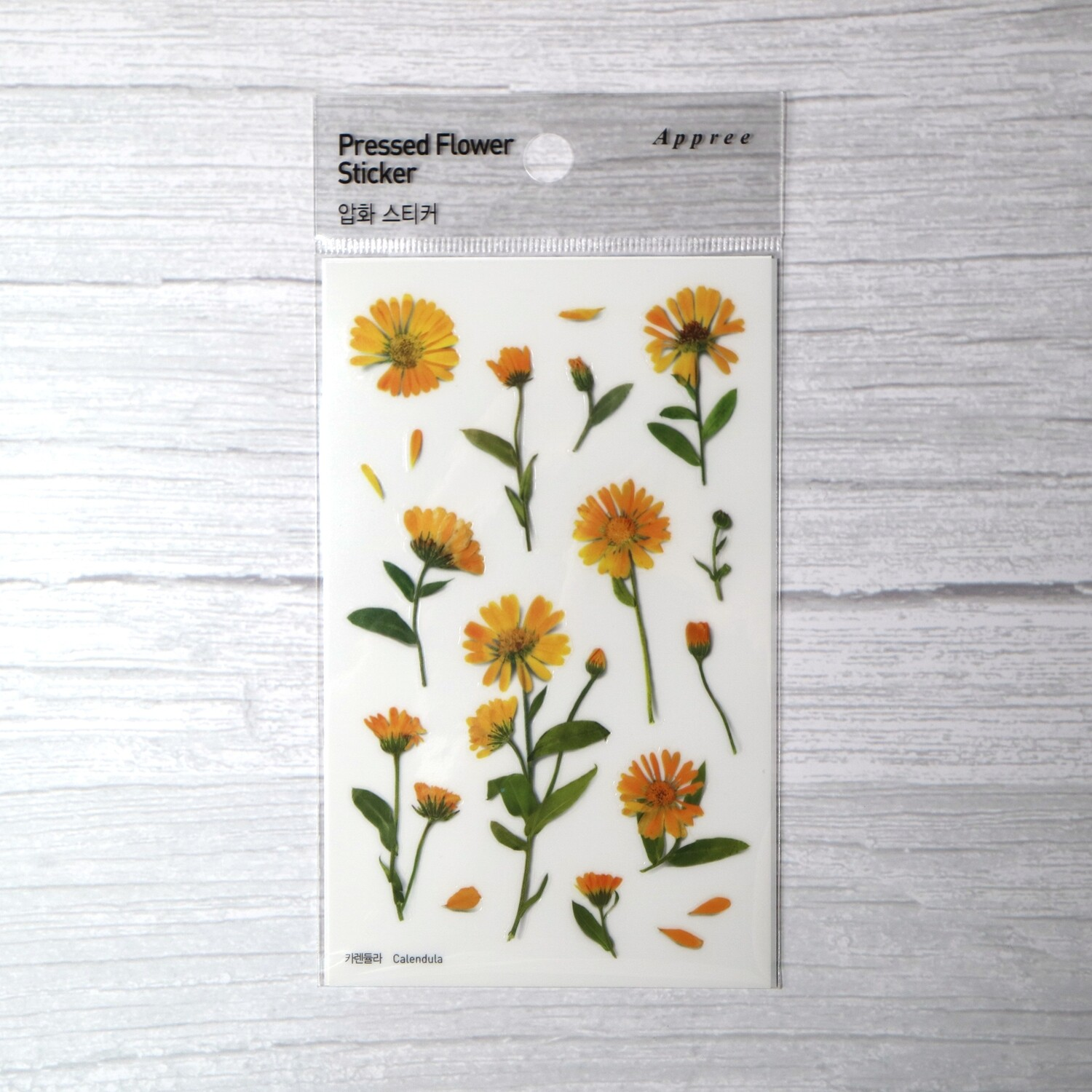 Appree Calendula Sticker Sheet