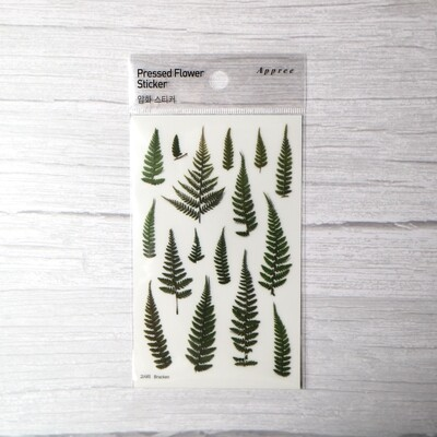 Appree Bracken Sticker Sheet