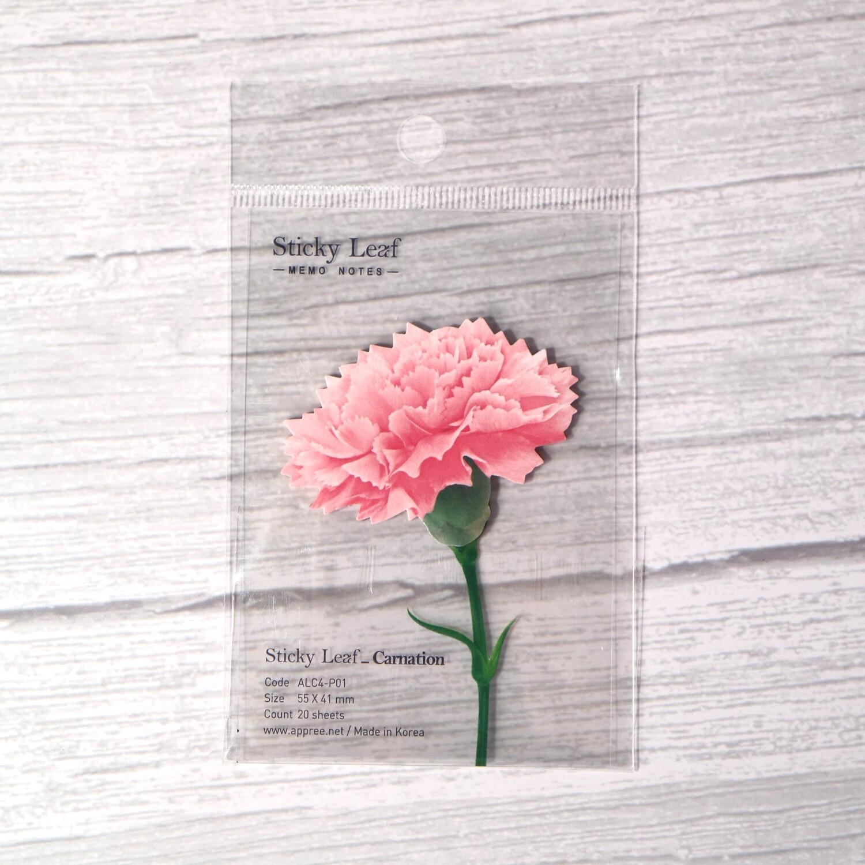 Appree Carnation Sticky Note