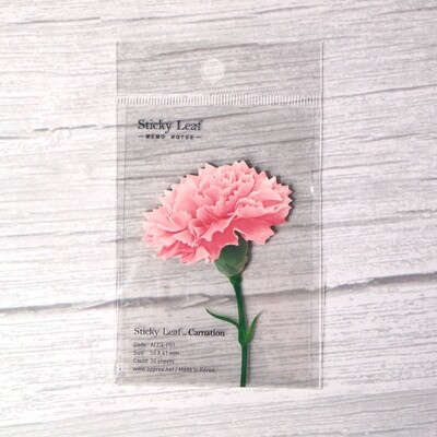 Appree Carnation Sticky Note