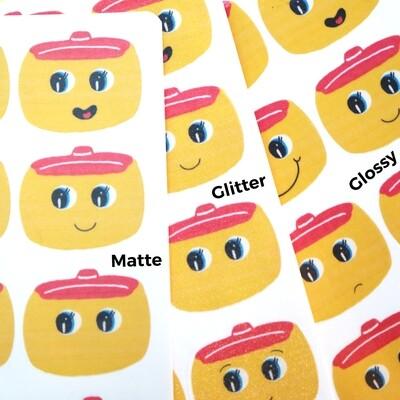 Fueki Sticker Sheet (OOPSIE PACKS / B-Grade)
