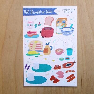 Breakfast Club Print