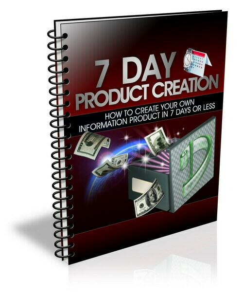 7 Day Product Creation
