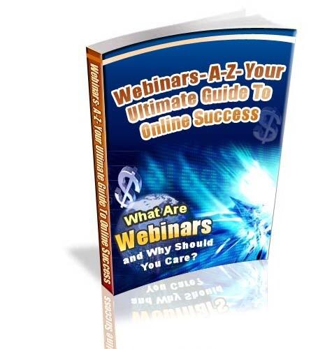 Webinars A-Z