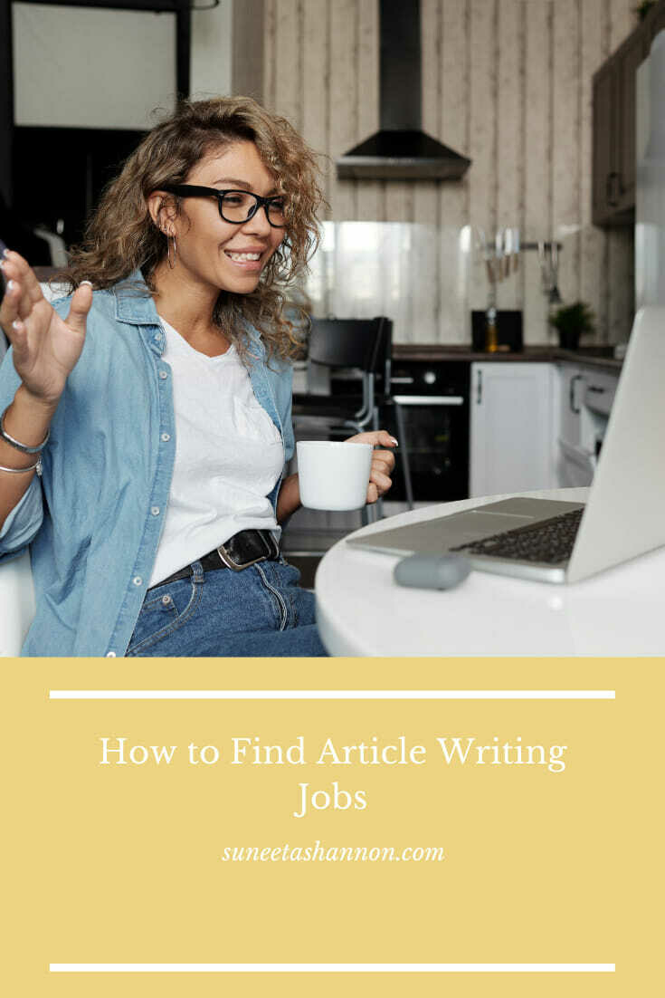 How to Find Article Writing Jobs