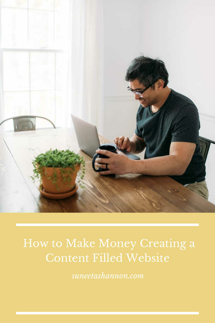 How to Make Money Creating a Content Filled Website