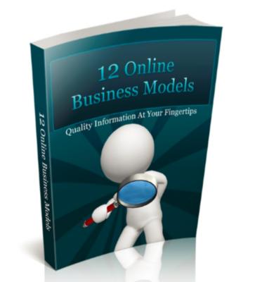12 Online Business Models