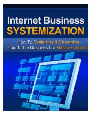 Internet Business Systemization