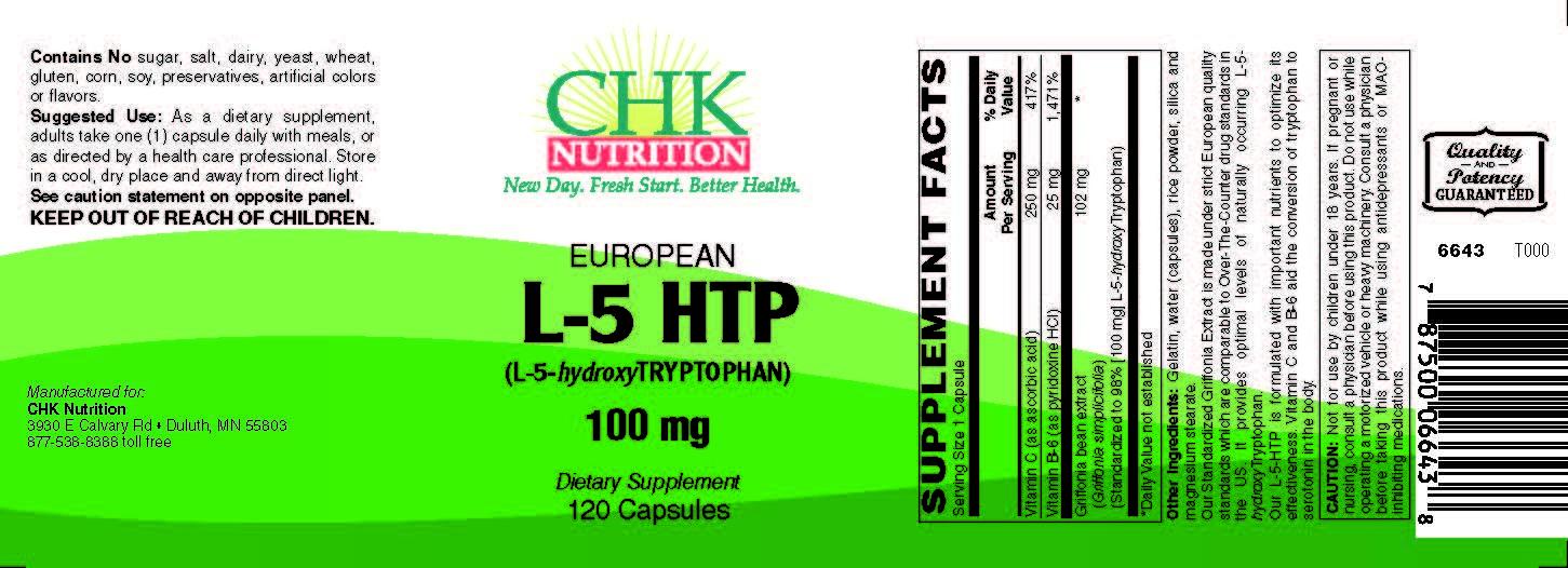 European L-5HTP
