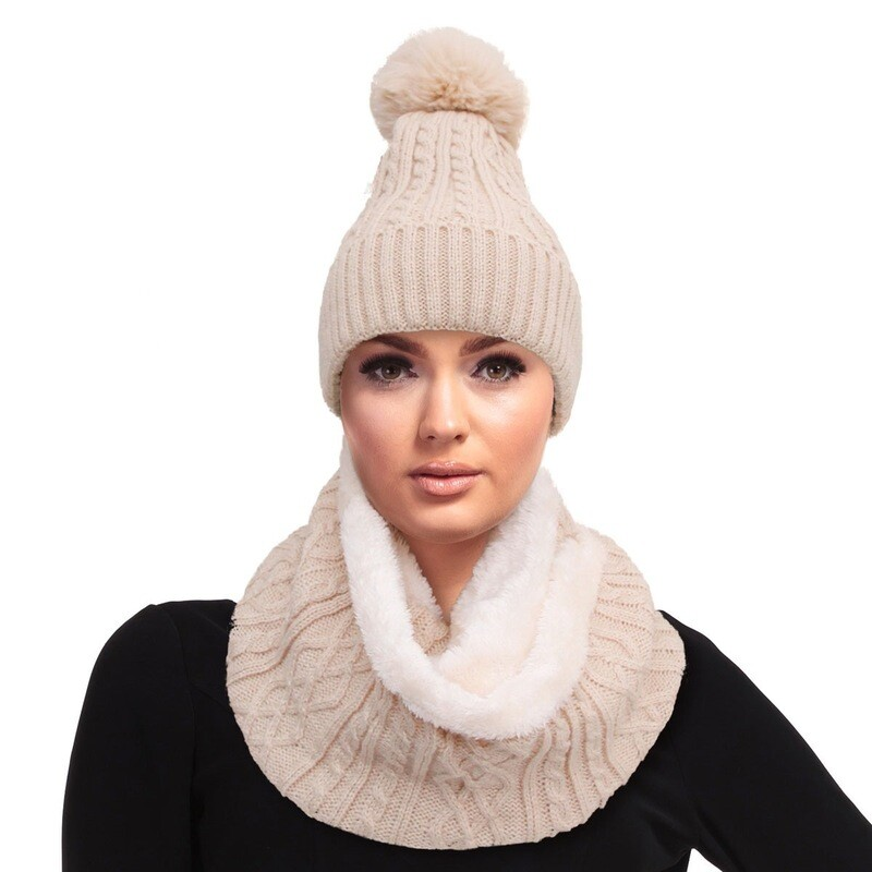 Hat-and-Scarf Set