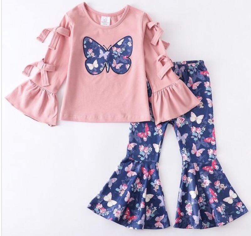 Butterfly Pants Set