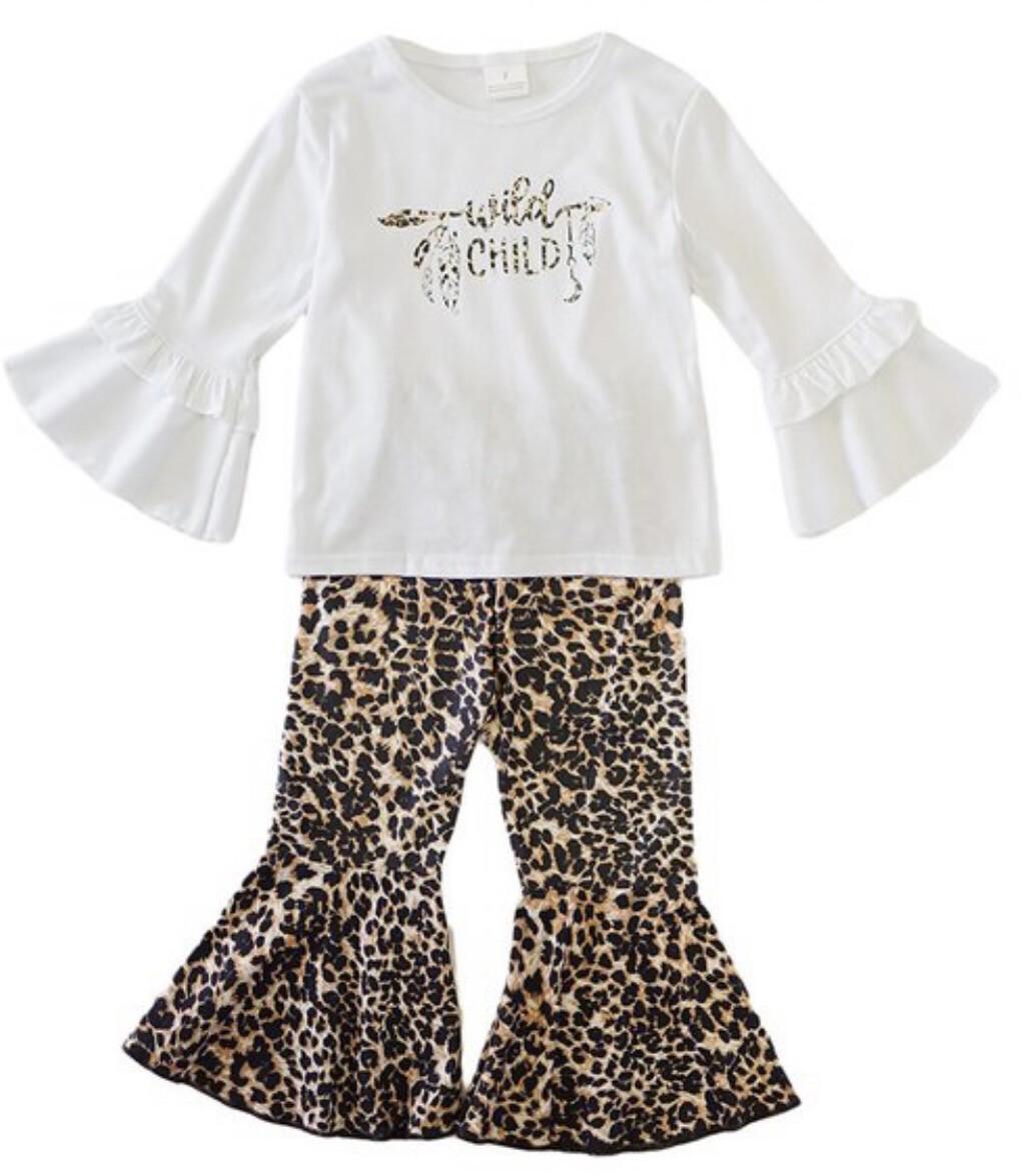 Wild Child Leopard Set