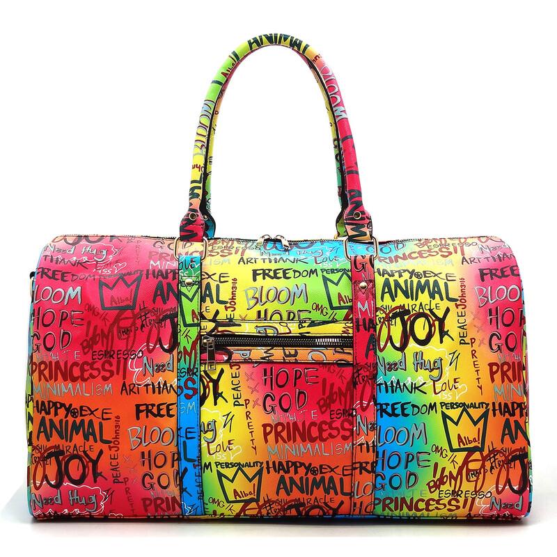 Graffiti Duffle Bag / Overnight bag