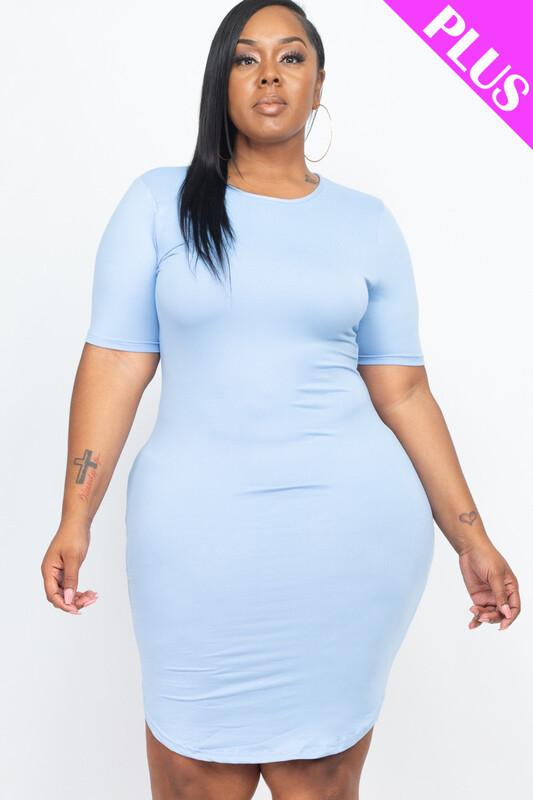 Mini Dress (Plus Size)
