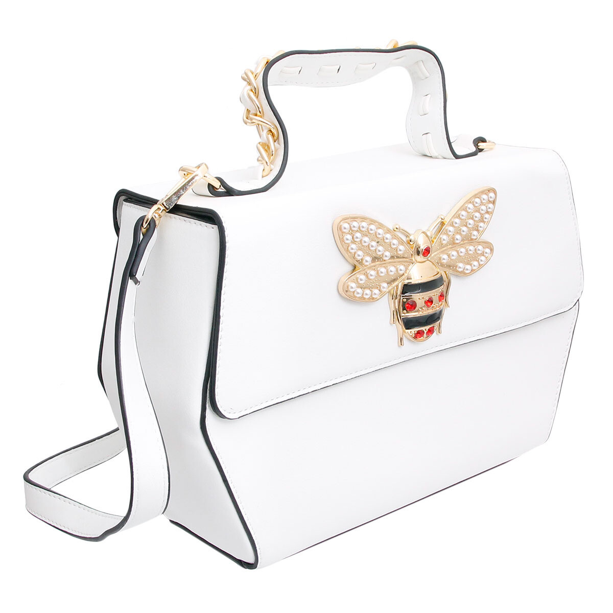Queen Bee Boxy Purse with Wallet