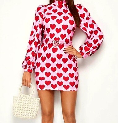 Lux Hearts Diva Dress