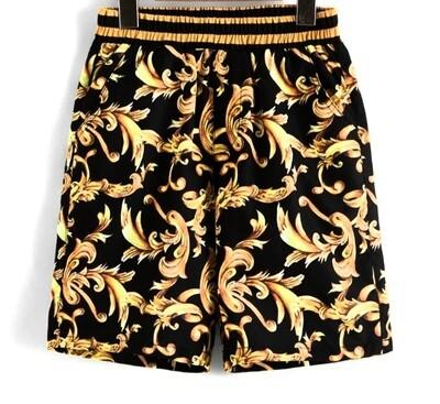 LUX print Shorts