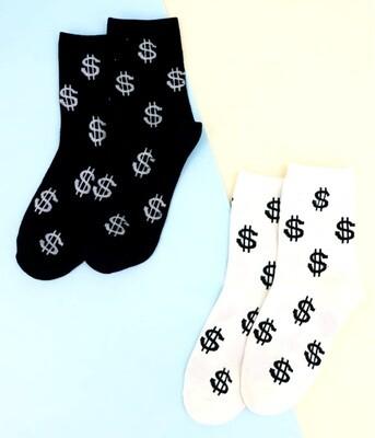 Money moves socks