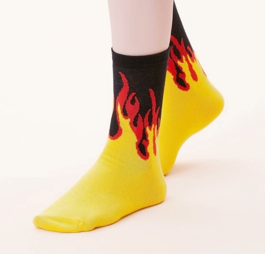 Empower Flame Socks