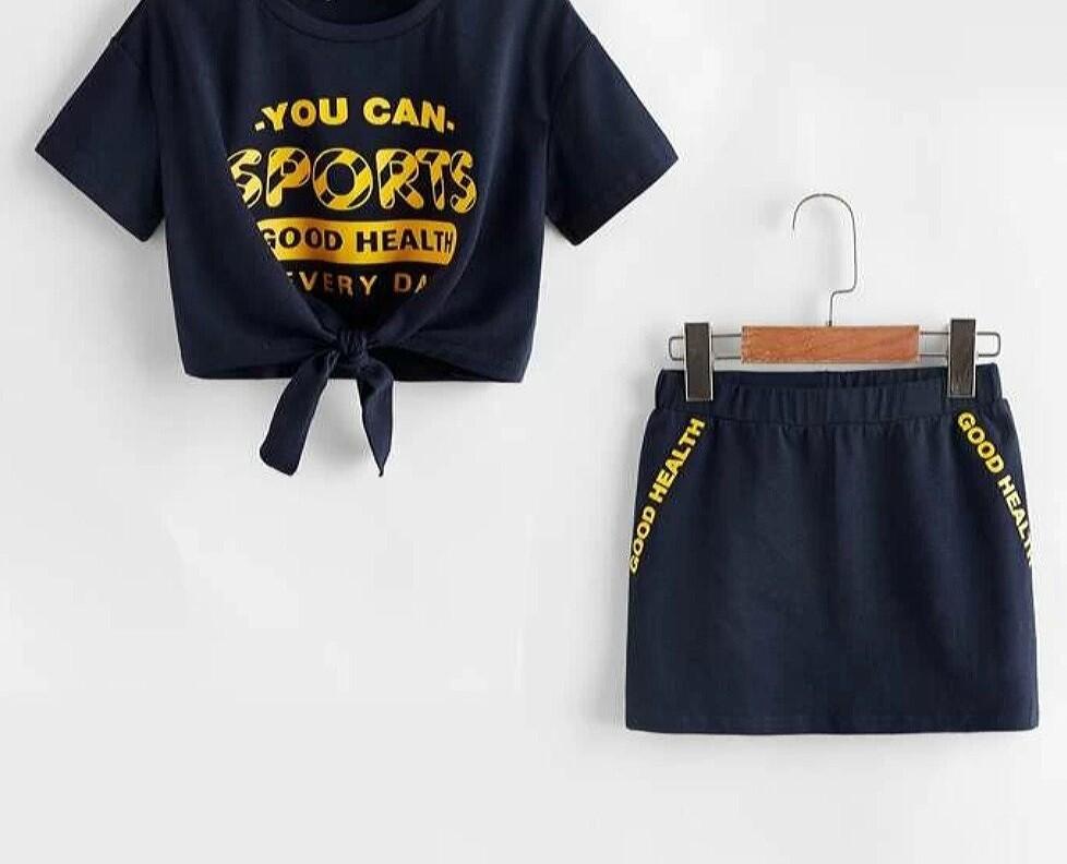 Sport Skirt Set