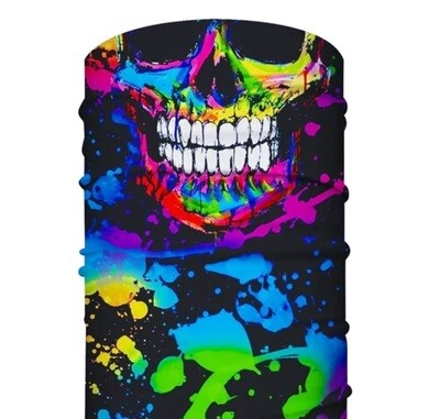 Skull Color Dace Cover