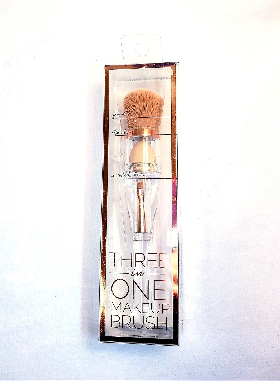 3 in 1 Makeup brush