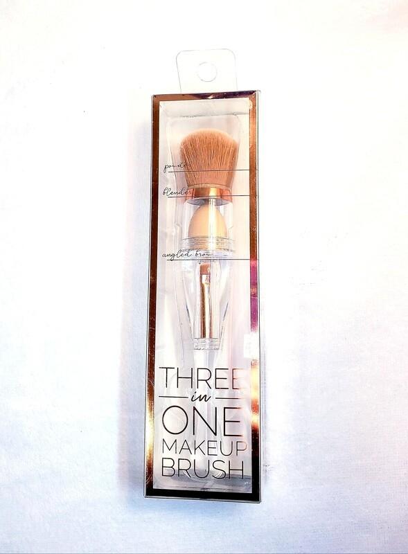 3 in 1 Makeup brush