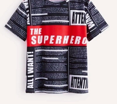 Superhero shirt