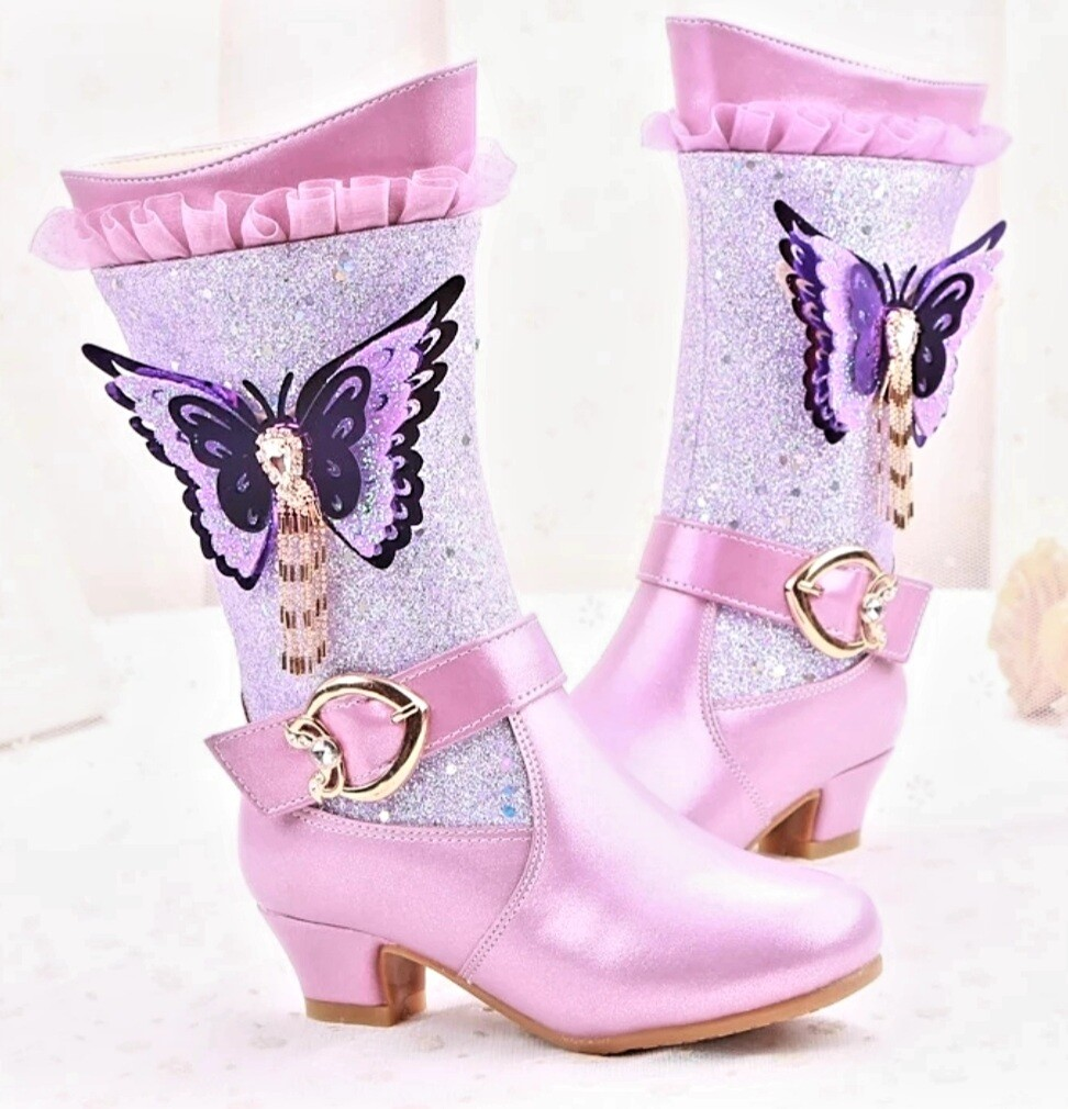 PINK Beauty Princess Boots