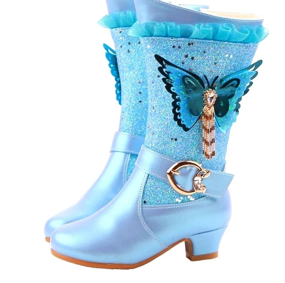 BLUE Beauty Princess Boots