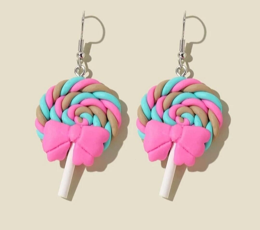 Drop Lollipop Earrings