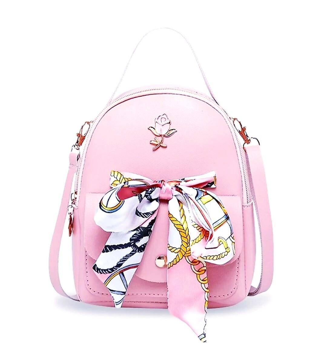 Scarf Beauty Backpack