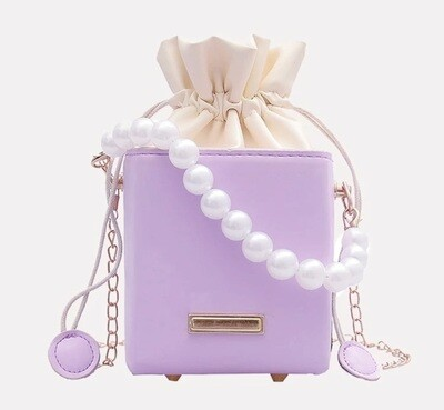 Pearl Bucket Purse