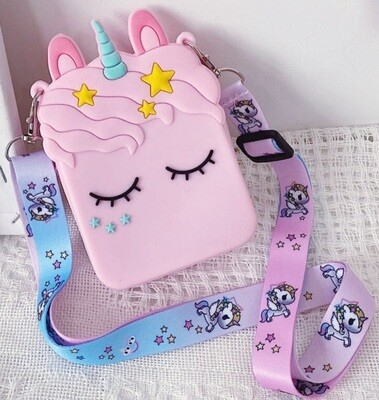 Pinky Unicorn Bag