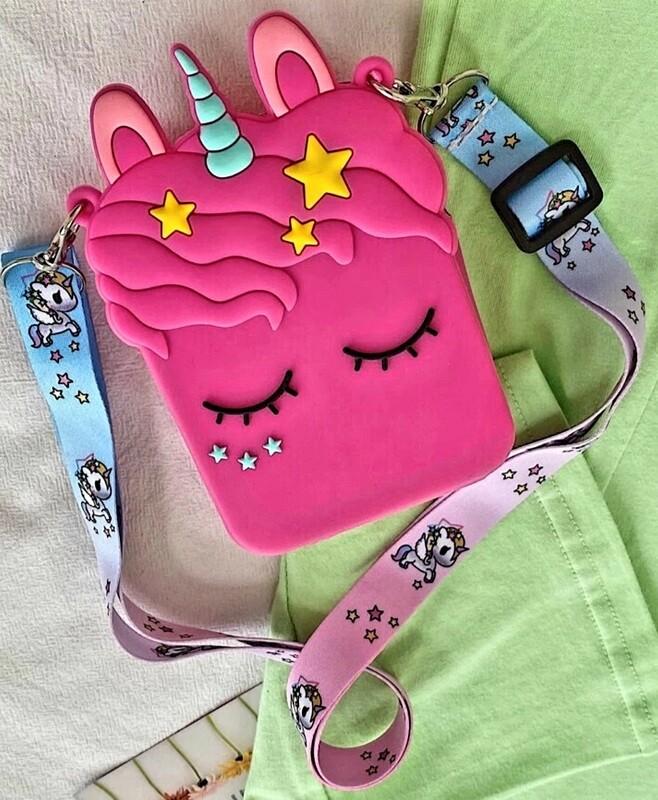 Pink Unicorn Bag