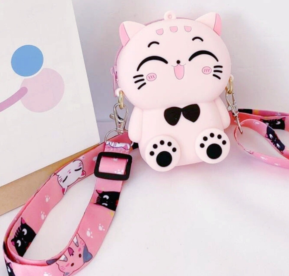 Mini Pink Kitty Bag