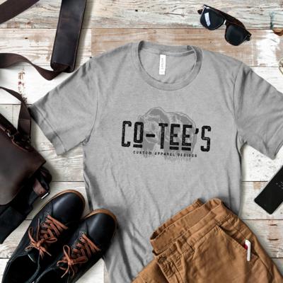 Co-Tee Brand T-shirt (Silver/Gray T-shirt)