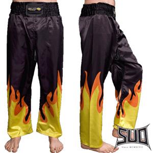 Hlače za kickbox plamena