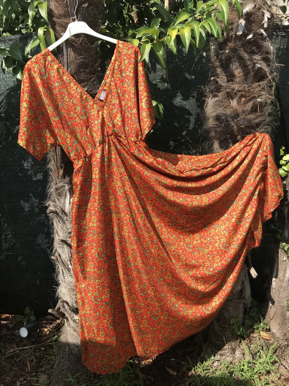 Vestito in misto seta