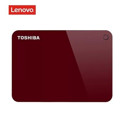 Disco Duro de 1TB Externo USB 3.0 Toshiba Canvio Advance (HDTC910XR3AA) Rojo