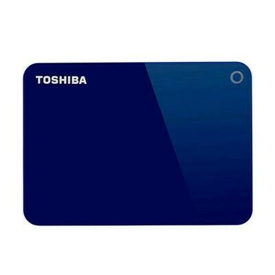 Disco Duro de 2TB Externo USB 3.0 Toshiba Canvio Advance (HDTC920XL3AA) Azul