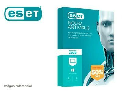 Antivirus Eset Nod32 (1 Instalación)