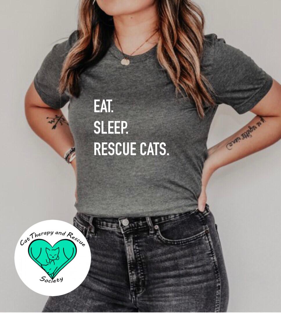 Eat. Sleep. Rescue Cats.