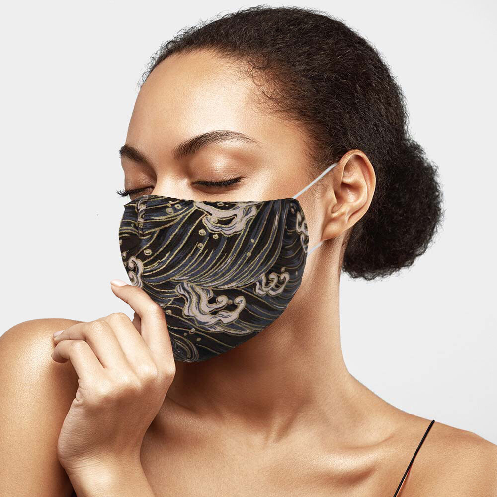 Paisley Print Cotton Fashion Mask