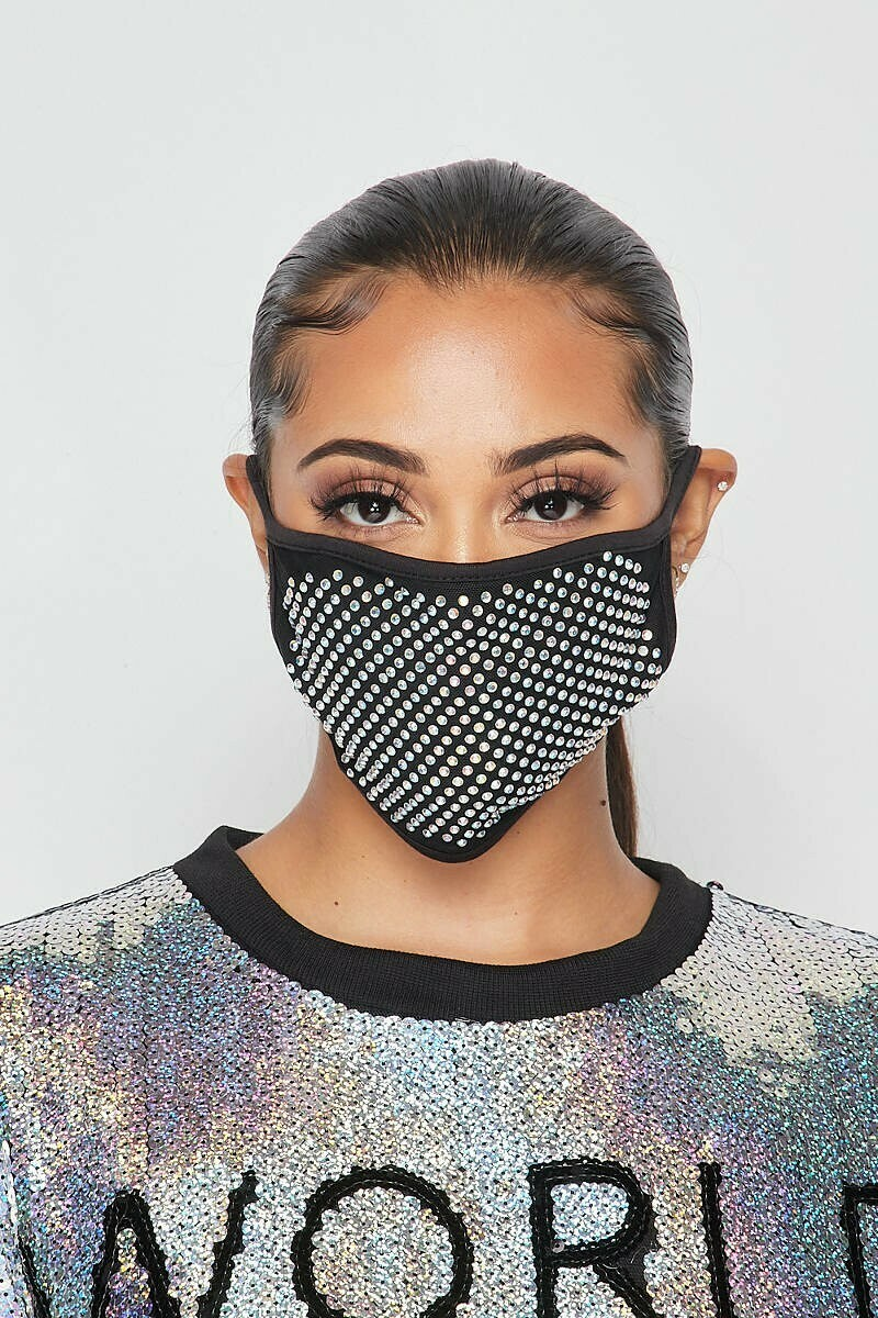 MISS 8 EMBELLISHED FACE MASKS