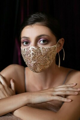 EMBELLISHED CINDERELLA FACE MASK