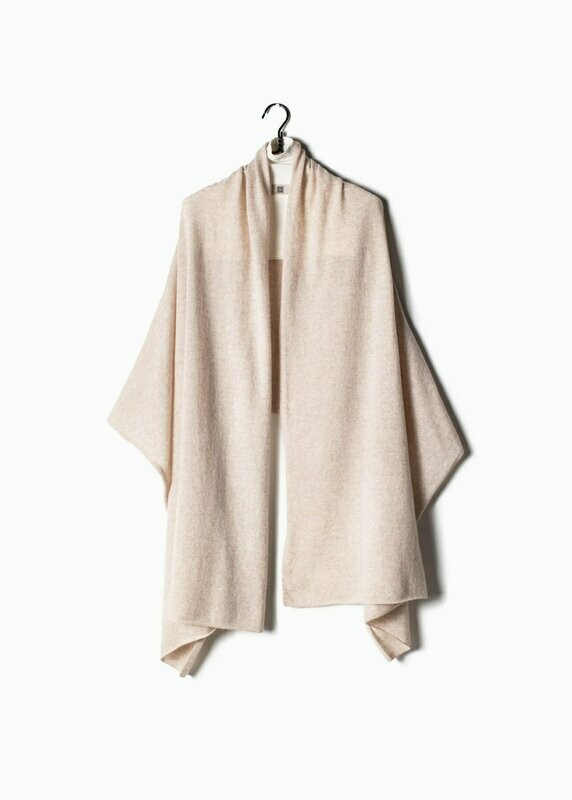 Pure Cashmere Travel Wrap Scarf